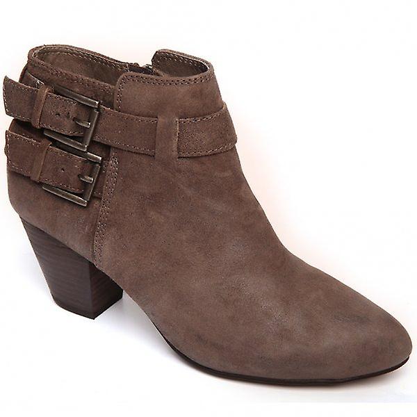 Ash Footwear Jason Mid-Heel Leather Ankle Boot - Spesiell rabatt