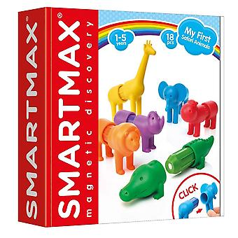 Smart Games SmartMax Magnetic Discovery My First Safari Animals