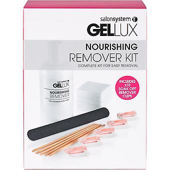 Gellux Nourishing Remover Kit - Komplettes Kit für einfache Entfernung