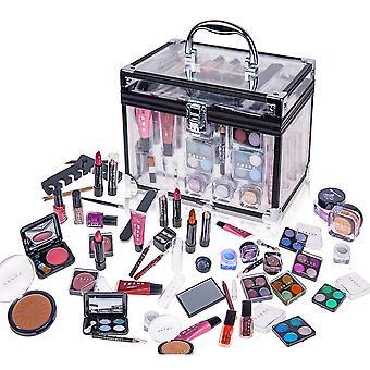 SHANY llevar todo el conjunto de maquillaje troncal (paleta de sombras de ojos / Blushes / Polvo / Esmalte de uñas y más)
