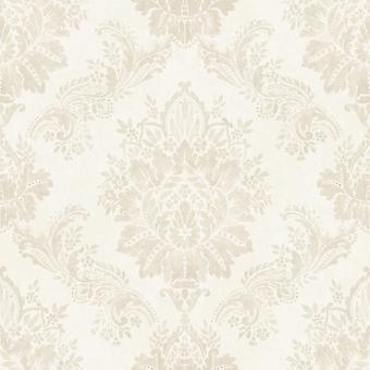 Rasch Bloomsbury damast patroon Floral motief traditionele metalen behang 204803