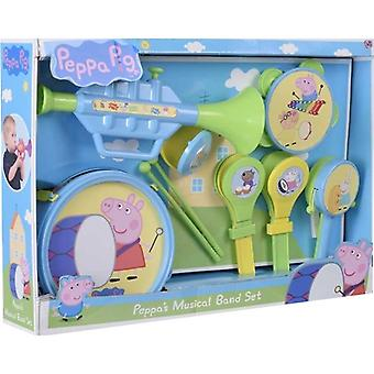 Greta Gris/Peppa Pig, music band