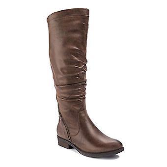 Bare Traps Womens Yulissa Closed Toe Mid-Calf Cowboy Boots
