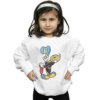Disney Mädchen Pinocchio Jiminy Cricket Sweatshirt