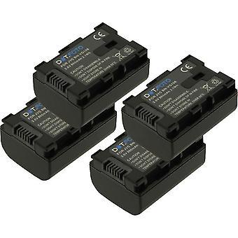 4 x Dot.Foto JVC BN-VG107, BN-VG108 - bateria 3.6 v / 860mAh