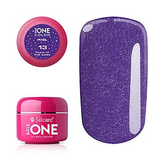 Base one-Pixel-Plum in the dark 5g UV gel