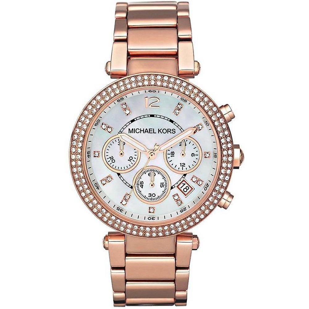 Michael Kors Ladies' Parker Chronograph Watch MK5491