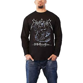 Emperor T Shirt In The Nightside Eclipse new Official Mens Black Long Sleeve
