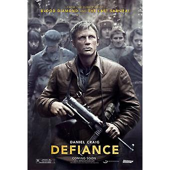 Defiance (Double Sided Advance) Original Cinema Poster (Double Sided Advance) Original Cinema Poster Defiance (Double Sided Advance) Original Cinema Poster Defiance (Double