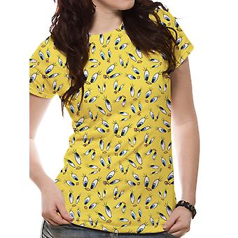 Looney Tunes-Tweety Face sublimated T-paita