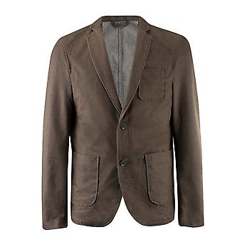 Giorgio Mens Gents Relax V Neck Long Sleeve Buttoned Blazer Jacket Outerwear