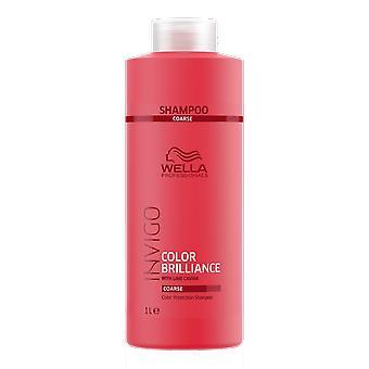Invigo kleur van Wella Brilliance grof kleur bescherming Shampoo 1000ml