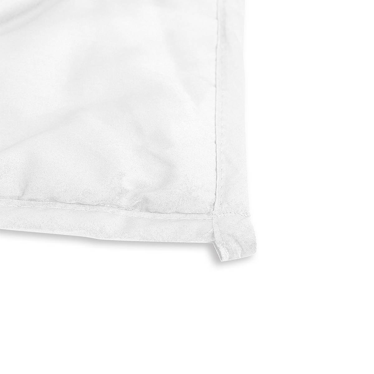 Beckasin Svalt Tyngdtäcke 10 kg Vit Bambu – Fritt från polyester