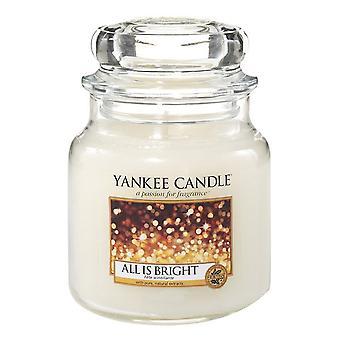 Yankee kynttilän klassinen pieni jar kaikki on kirkas 104g