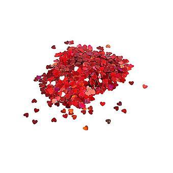 Konfetti czerwone serce 14gm