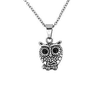 Fantasy Animal Owl formad halsband hänge-innehåller en 20/22