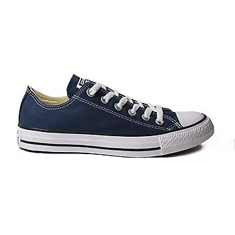 Converse Chuck Taylor All Star Ox Classic M9697C Navy Canvas Unisex Lace Up Shoes