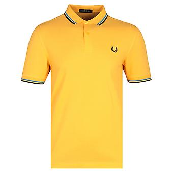 Fred Perry M3600 gelben Poloshirt