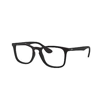 Ray-Ban RB7074 5364 Rubber Black Glasses