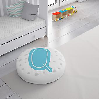 Meesoz Floor Cushion - Letter Boy - Q