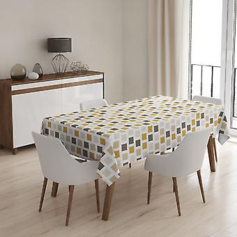 Meesoz Nappe - Squares Gold&Brown