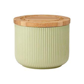 Ladelle Stak teksturert salvie canister, 9cm