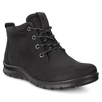 Ecco Womens Low-Cut HYDROMAX Durável Lace-up Couro Babbet Boot