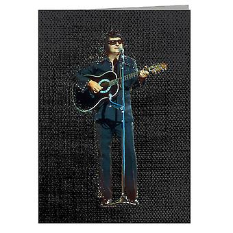 TV Times Roy Orbison Performing In 1976 Greeting Card