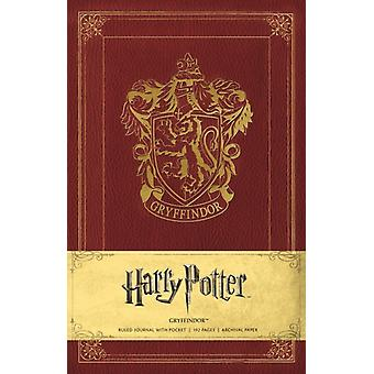 Harry Potter Gryffindor Hardcover Ruled Journal by Insight Editions