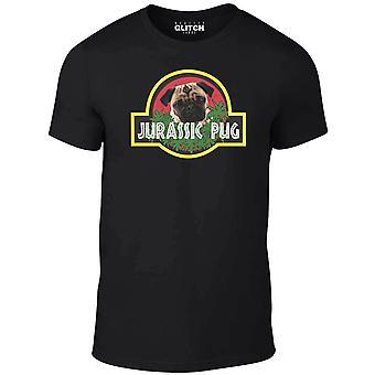 Menn ' s Jura pug t-skjorte