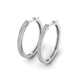 Boucles d'oreilles en ligne de diamant en diamant naturel Angi certifié s925 sterling 0,17 ct