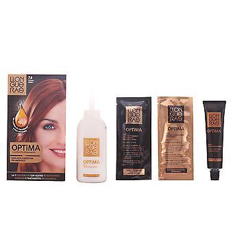Llongueras Optima cheveux couleur cuivre #7.4 unisexe
