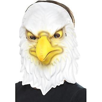 Eagle maski, valkoinen & keltainen, EVA