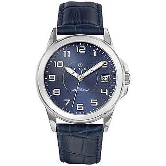 Certus 610725 watch - nahka sininen ihminen