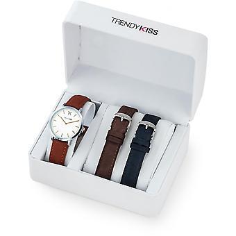 Box watch Trendy Kiss Lovisa CTK-02 - shows dial white woman