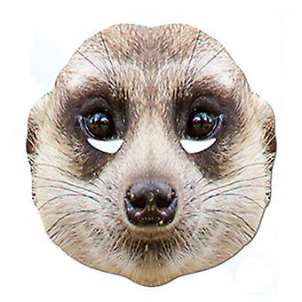 Masque de robe de fantaisie de carte d'animal de meerkat