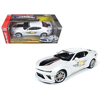 2017 Chevrolet Camaro SS Indy Pace Car 50th Anniversary Limited Edition a 1002pcs 1/18 Diecast Car Model di Autoworld