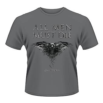 Game of Thrones Tous les hommes doivent mourir T-Shirt officiel