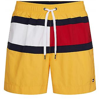 Drawstring Logo Swim Shorts