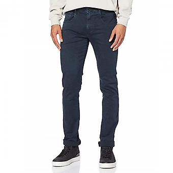 Replay Anbass Hyperflex Slim Fit Jeans Navy Colour Edition M914Y 8166197