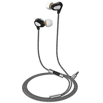 Celly Headset Dual Driver In-ear Headphones Black