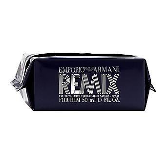 Emporio remix par giorgio armani pour hommes 1.7 oz eau de toilette spray