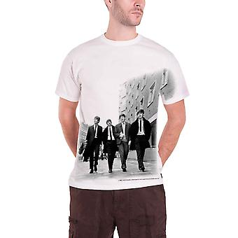 Die Beatles T Shirt Wandern In London aller print offiziellen Mens New White