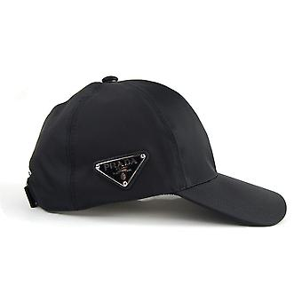 Prada Nylon Baseball Cap Nero