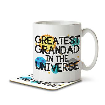 Greatest Grandad in the Universe - Mug and Coaster