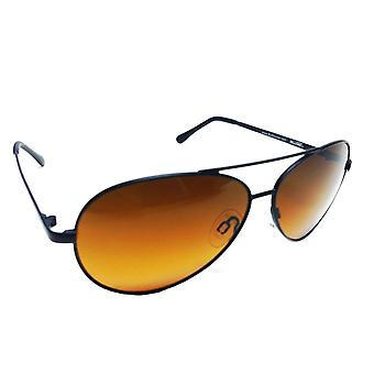 BluBlocker™ Polarized Wire Aviator Sunglasses (Black)