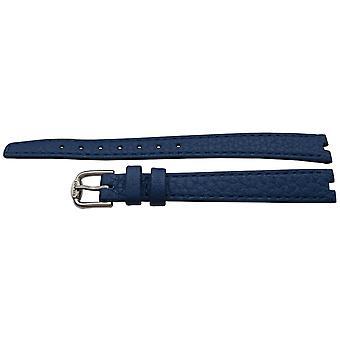 Authentische tissot Uhr Armband blau Kalb 10mm