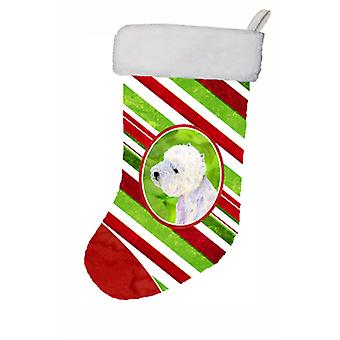 Westie Candy Cane Holiday Christmas Christmas Stocking LH9225