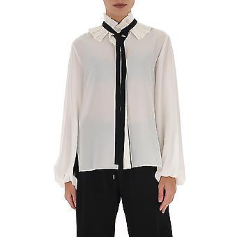 Chloé Chc20sht17004107 Women's White Silk Shirt