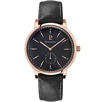 Pierre Lannier Analog quartz men's watch with leather 216H433